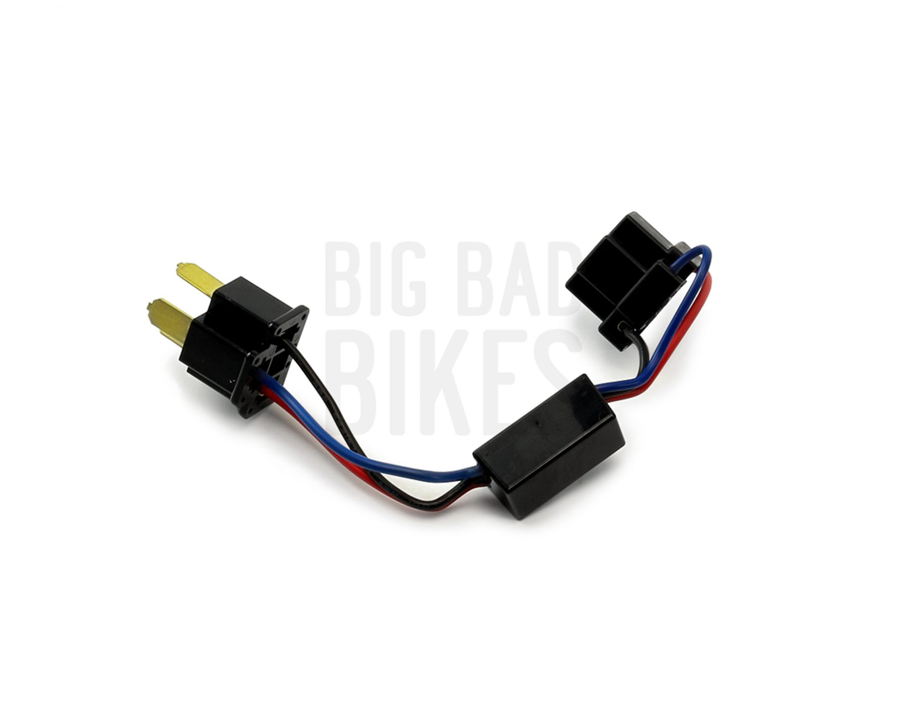 denali all on combination low beam with high beam conversion rh bigbadbikes com h4 headlight relay wiring harness