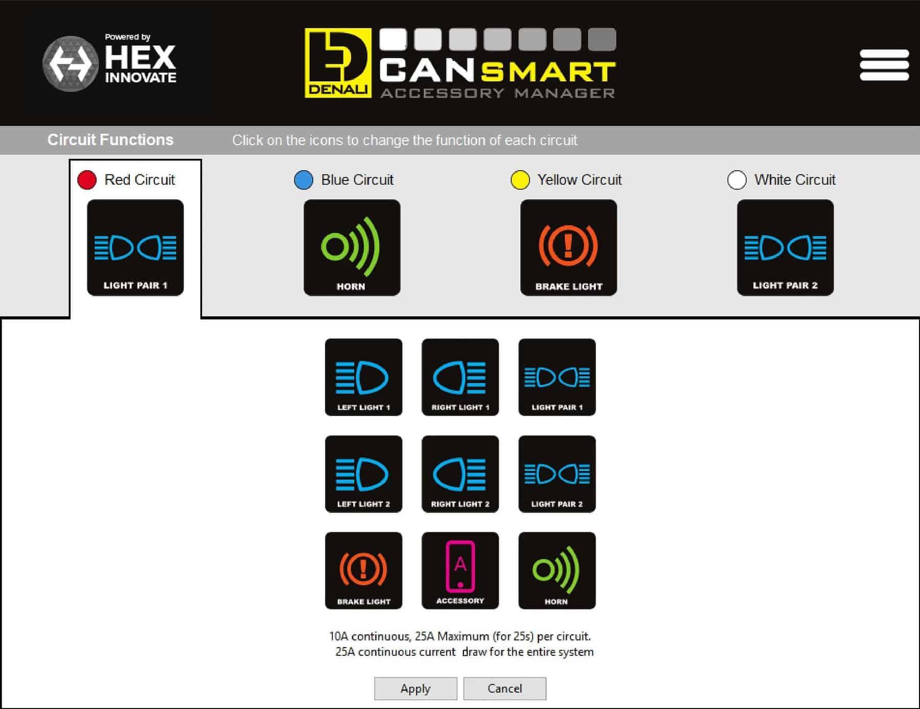 Denali Plug N Play Cansmart Controller For Bmw R1200 Lc